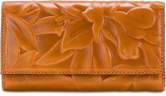 Patricia Nash Teresa Floral Embossed Leather Wallet