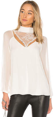 Haute Hippie Through The Looking Glass Blouse