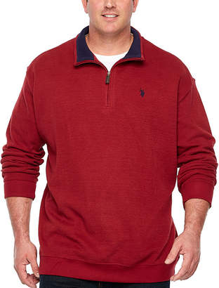 U.S. Polo Assn. Quarter-Zip Pullover Big and Tall