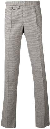 Incotex houndstooth slim-fit trousers