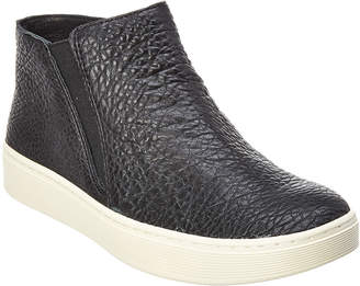 Sofft Britton Leather High-Top Slip-On Sneaker