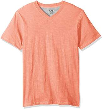 Lee Men's Short Sleeve Vneck Tee