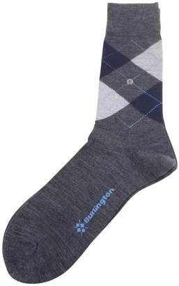 Burlington Mens Edinburgh Socks - //Navy