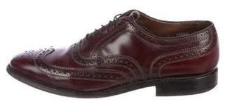 Allen Edmonds Leather Wingtip Brogues