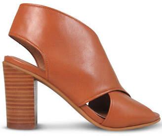 Wittner Ladies Shoes Tan Leather Heels