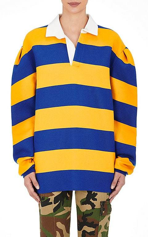 Marc Jacobs Marc Jacobs Women's Rugby-Striped Jersey Oversized Top