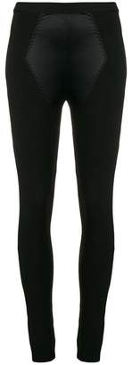 Moschino panelled leggings