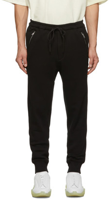 3.1 Phillip Lim Black Classic Tapered Lounge Pants