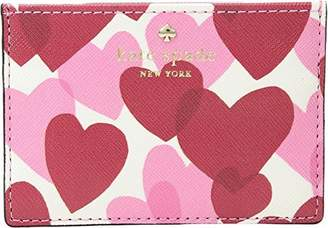 Kate Spade Women's Yours Truly Print Card Holder