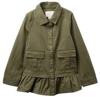 Kate Spade Field Jacket (Big Girls)
