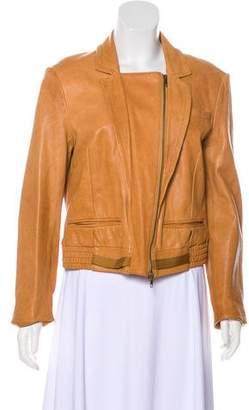Diane von Furstenberg Brutus Leather Jacket