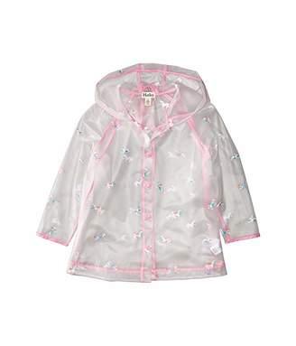 Hatley Rainbow Unicorns Clear Swing Raincoat (Toddler/Little Kids/Big Kids)
