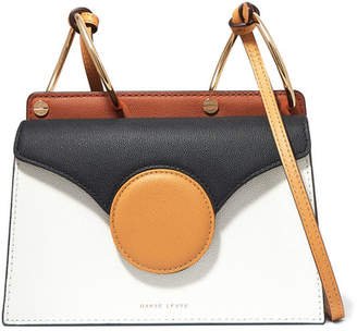 Danse Lente Phoebe Mini Textured-leather Shoulder Bag - White