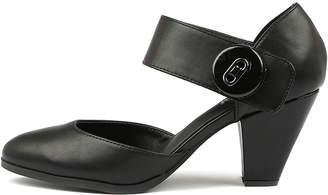 I Love Billy Cyndias Black-black Shoes Womens Shoes Heeled Shoes