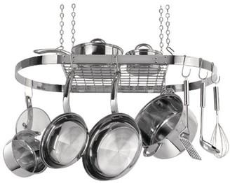 Range Kleen CW6001R Oval Hanging Pot Rack (stainless Steel)