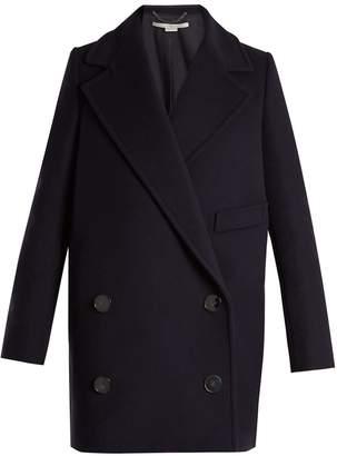 Stella McCartney Edith double-breasted wool-blend coat