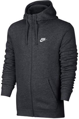 Nike Men's Fleece Zip Hoodie $55 thestylecure.com