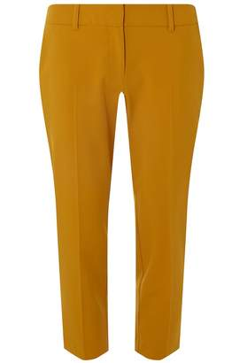Dorothy Perkins Petite Ochre Naples Ankle Grazer Trousers