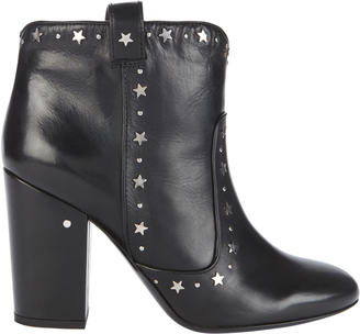 Laurence Dacade Pete Star Leather Booties $940 thestylecure.com