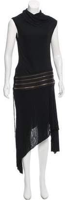Jean Paul Gaultier Zip-Accented Chain-Link Dress
