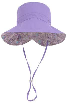 HZTG Women's Rain Hats Packable Sun Hats UPF 50+ Wide Brim Anti-UV Beach Cap