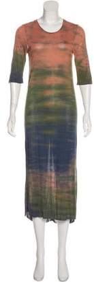 Raquel Allegra Jersey Maxi Dress