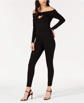 GUESS Gigi Off-The-Shoulder Jumpsuit