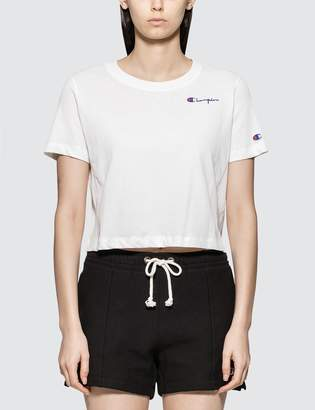 Champion Reverse Weave Cropped Crewneck T-shirt