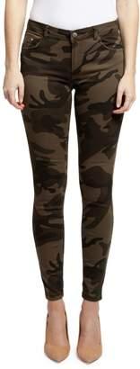Dex Skinny Print 5-Pocket Pants