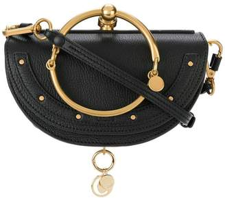 Chloé black Nile mini Minaudiere clutch bag
