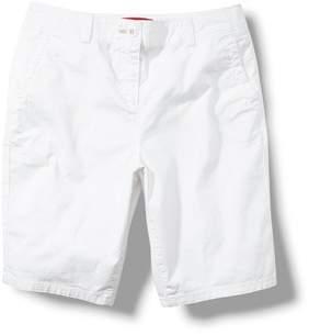 Next Womens Blush Chino Knee Shorts