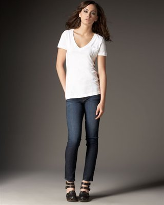 J Brand Jeans Mid-Rise Skinny Heritage Ankle Jeans