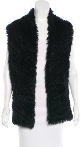 Marc By Marc JacobsMarc by Marc Jacobs Knit Fur Vest