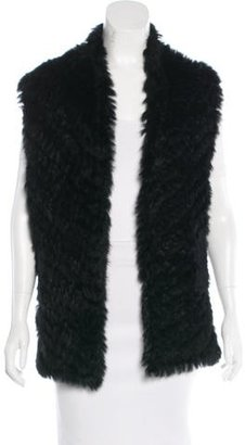 Marc by Marc Jacobs Knit Fur Vest $225 thestylecure.com