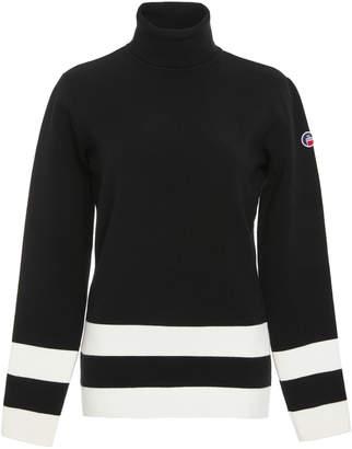 Fusalp Ubac Striped Turtleneck Sweater