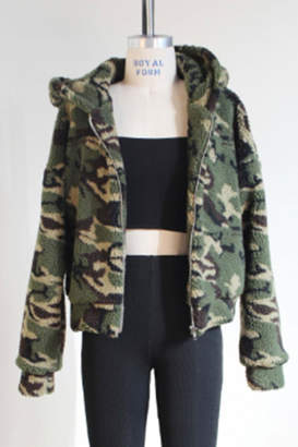 3.1 Phillip Lim Audrey 3+1 Army Hooded Jacket