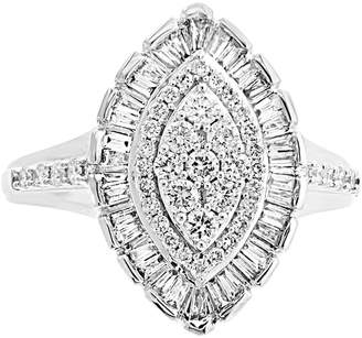 Effy Diamond Marquise Cluster Ring (3/4 ct. t.w.) in 14k White Gold