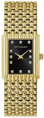 Wittnauer Women's Goldtone Cosmopolitan DiamondWatch
