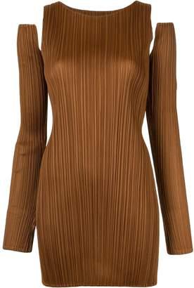Pleats Please Issey Miyake detachable sleeves top