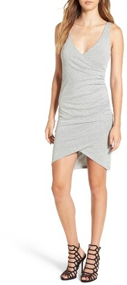 Women's Leith Ruched Wrap Front Tank Dress $59 thestylecure.com
