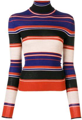 Acne Studios striped turtleneck sweater