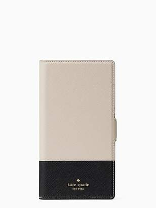 Kate Spade Magnetic wrap iphone xs max folio case