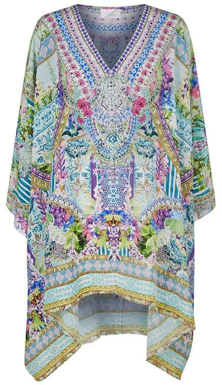 Salvador Fields Cold Shoulder Kaftan