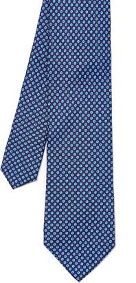 J.Mclaughlin Italian Silk Tie in Mini Dots