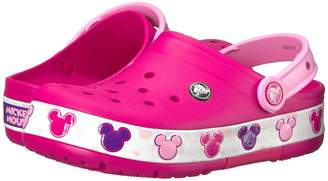 Crocs Crocband Mickey Fun Lab Lights Clog Kids Shoes