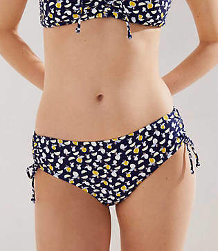 11b9768e1 LOFT Beach Lemon Adjustable Side Tie Bikini Bottom