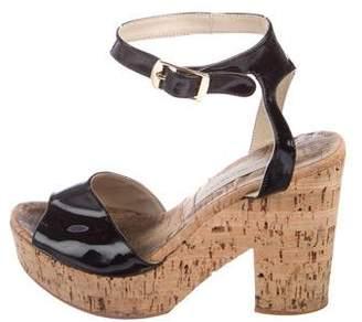 Stella McCartney Vegan Leather Slingback Sandals