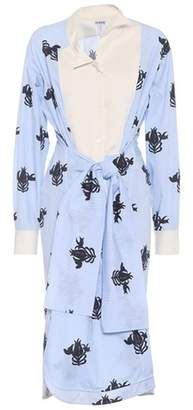 Loewe Printed cotton dress