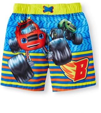 Blaze Board Short Swim Trunks (Toddler Boys)
