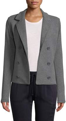 James Perse Women's Double Breasted Jacket